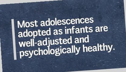 Mental Health of Adolescents Adopted in Infancy