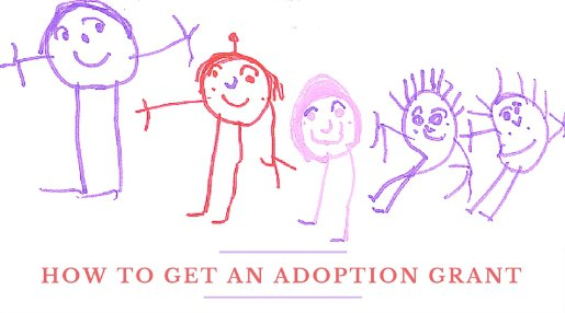 How to get an adoption grant