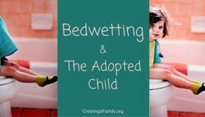 bedwetting and adopted child
