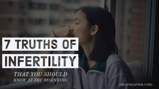 truths about infertility you should know at the beginning when you are trying to conceive