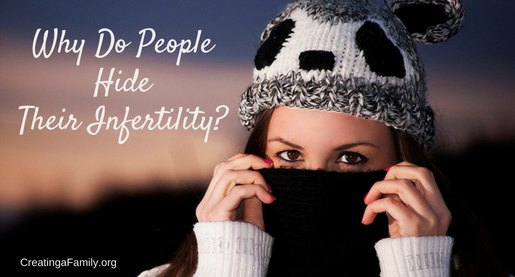 why do people hide their infertility