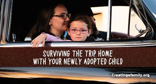 How to survive adoption travel with a newly adopted child