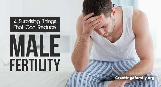4 things that reduce male fertility rates